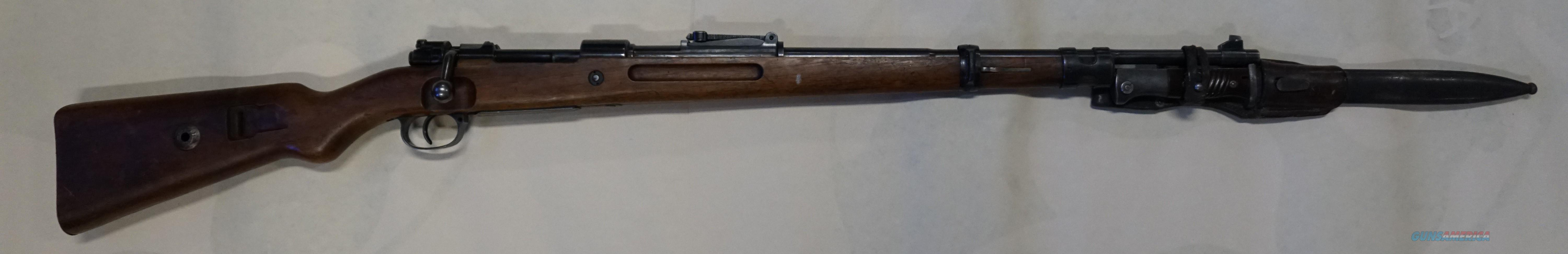 "Original ""Banner"" Mauser 8mm all matching #'s with Bayonet   Guns > Rifles > Mauser Rifles > German"
