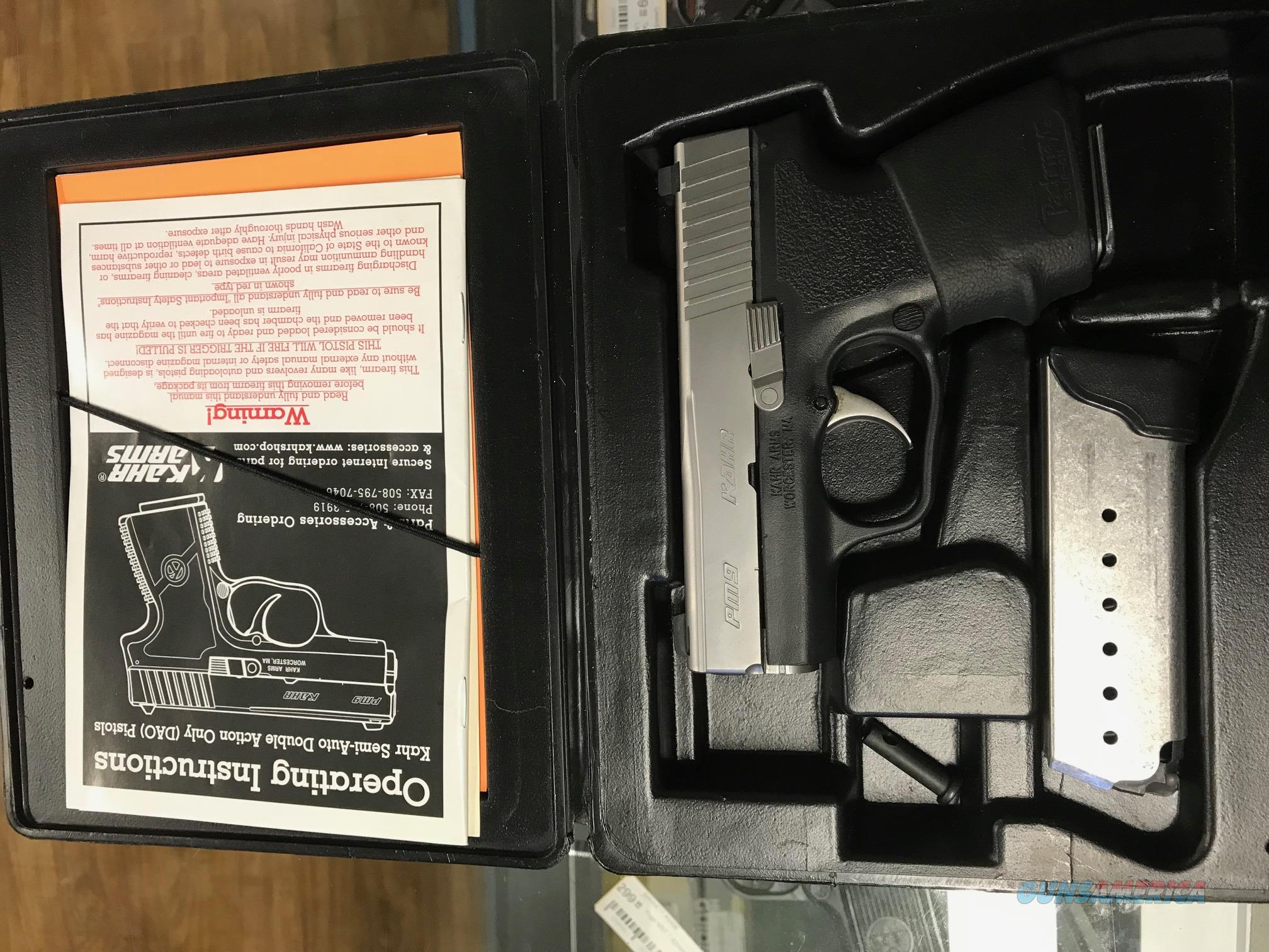 Kahr PM9 9 MM   Guns > Pistols > Kahr Pistols