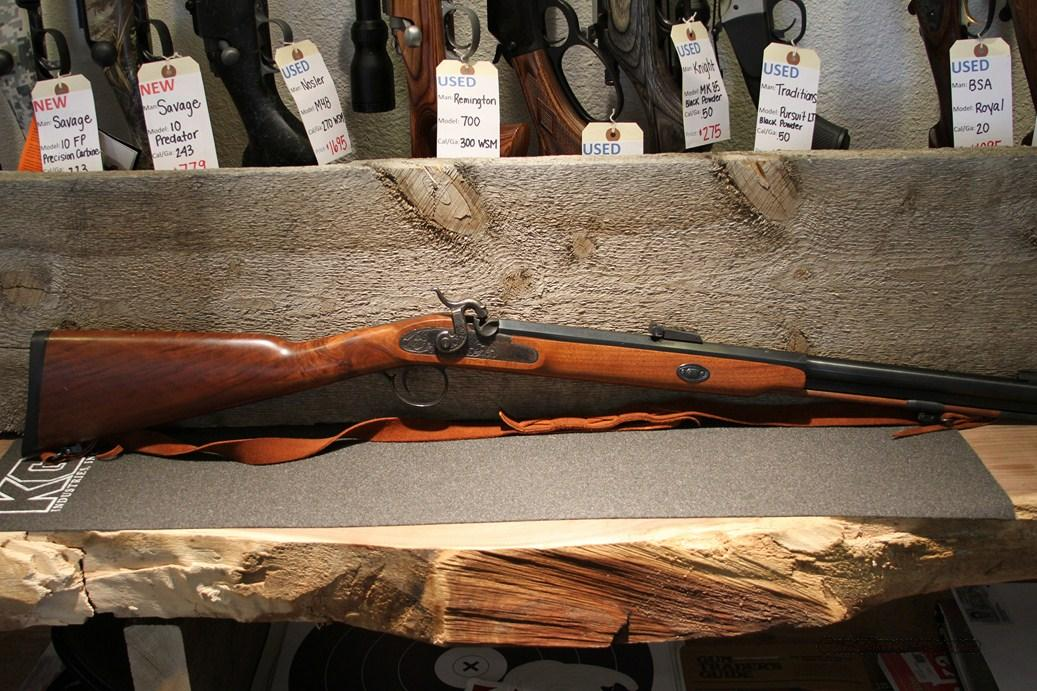 Thompson Center White Mountain Carbine 50 Cal.  Guns > Rifles > Thompson Center Muzzleloaders > Hawken Style