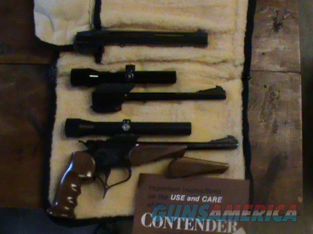Thompson Contender 22lr 22 Hornet 44 Mag mfg 1980  **** PRICE REDUCED****  Guns > Pistols > Thompson Center Pistols > Contender