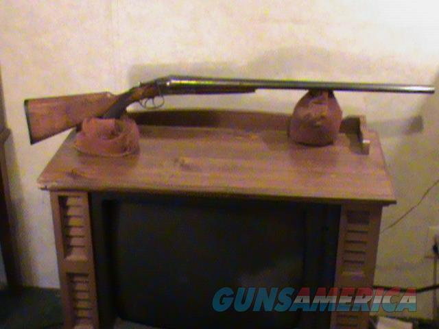 Hopkins and Allen Double Barrel Boxlock 12 Gauge  Guns > Shotguns > H Misc Shotguns