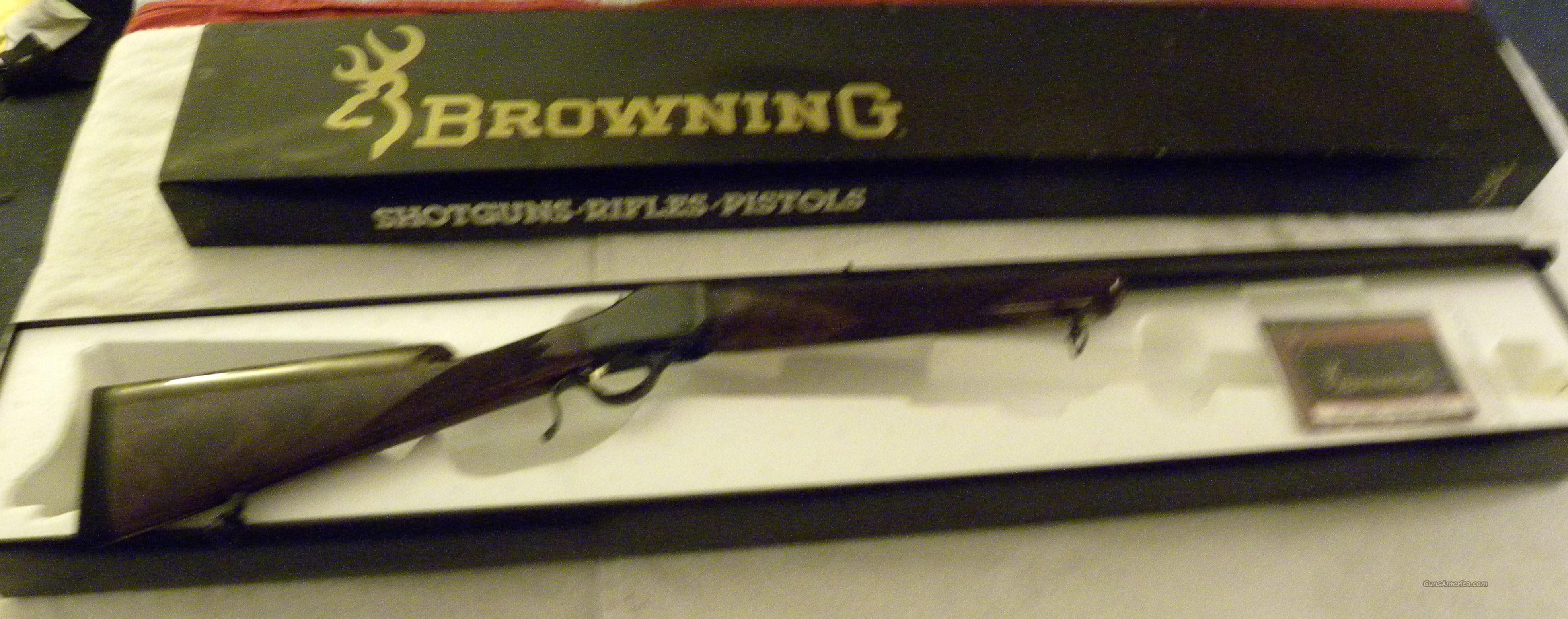 Browning 1885 Hi-Wall Single Shot Rifle  Guns > Rifles > Browning Rifles > Singe Shot