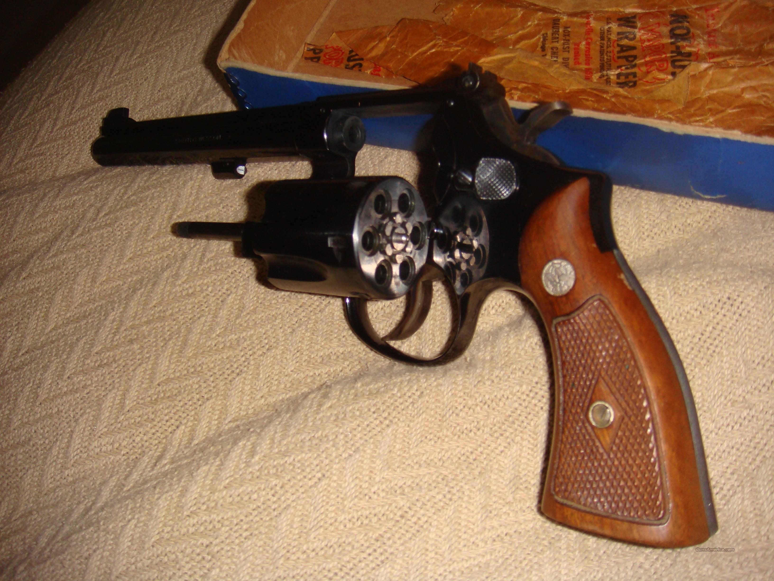 Smith & Wesson Model-17 22LR   Guns > Pistols > Smith & Wesson Revolvers > Pre-1945