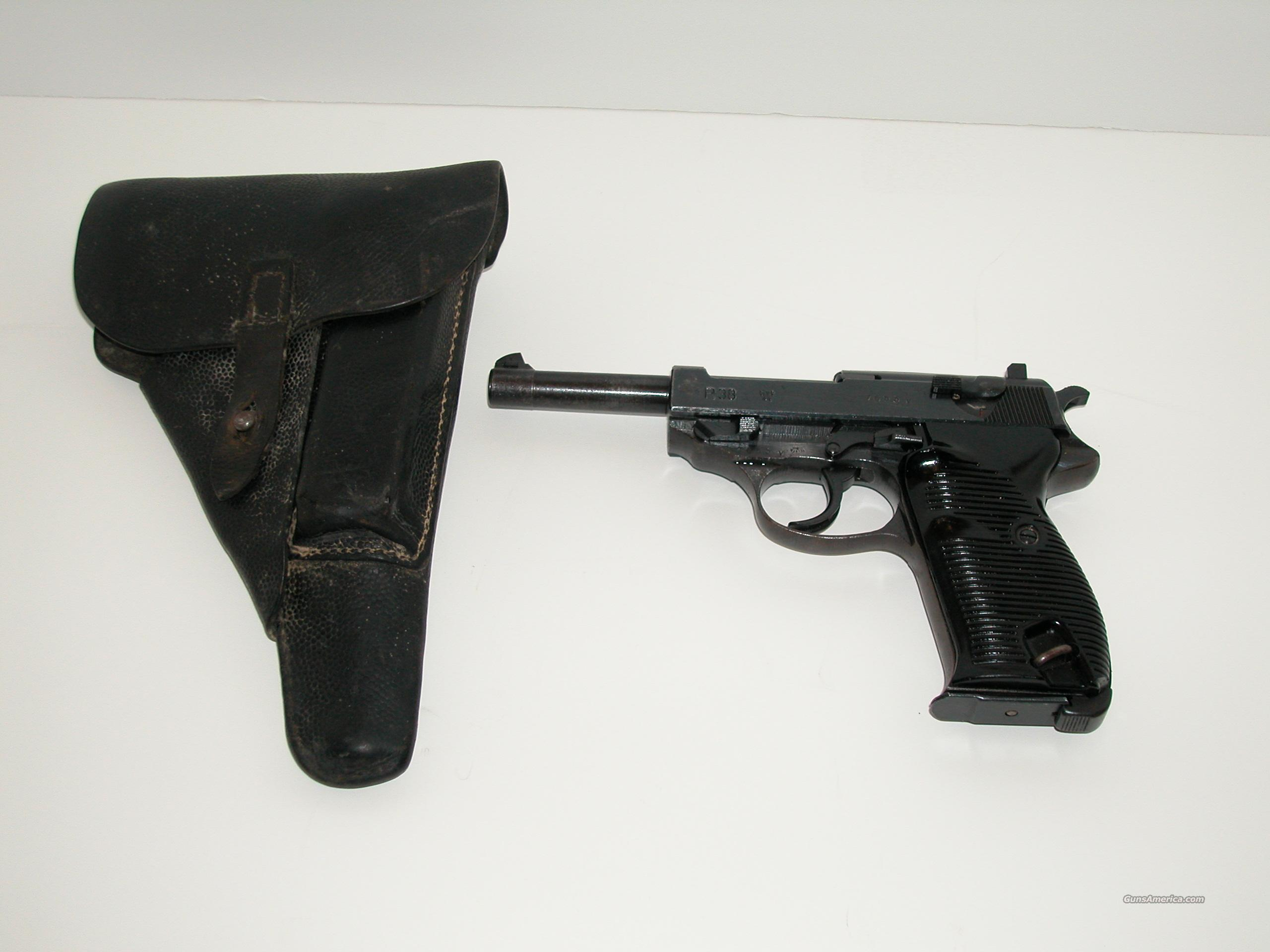 Walther P38 byf 44 9mm Holster Match # Nazi proofs  Guns > Pistols > Walther Pistols > Post WWII > P38