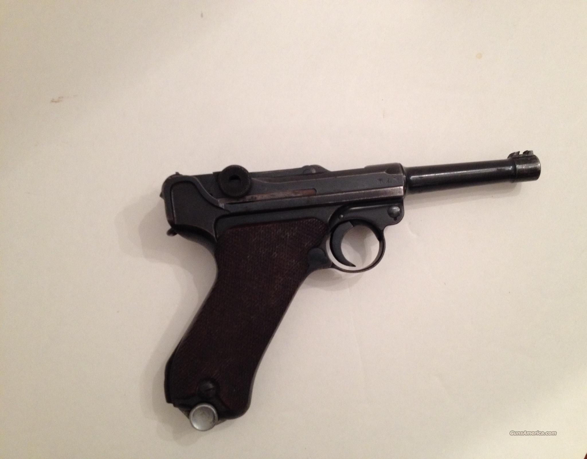WWII NAZI P.08 byf41 Luger w/ Holster  Guns > Pistols > Luger Pistols