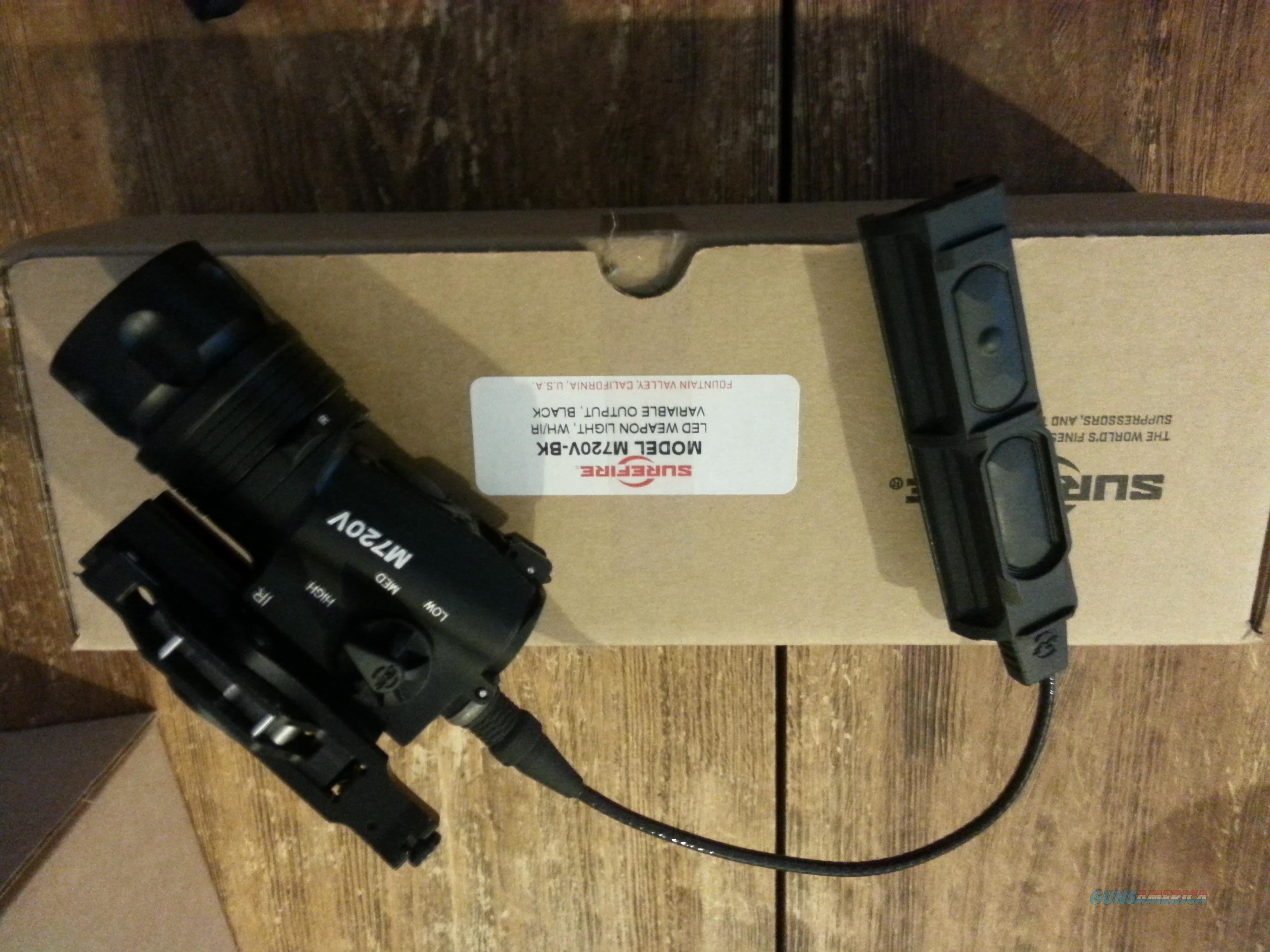 M720V'Surefire Raid Weaponlight/ FREE S/H USED WITH PRESSURE SWITCH  Non-Guns > Lights > Tactical