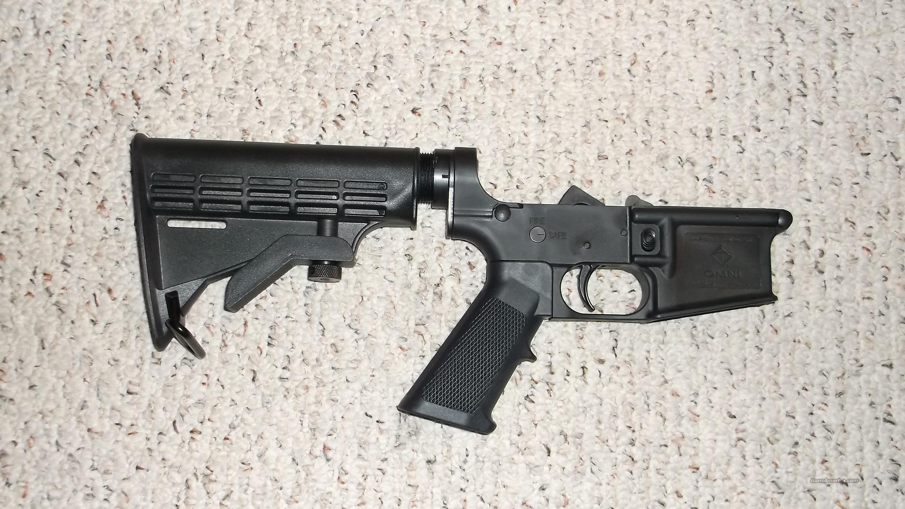 OMNI ATI COMPLETE POLY LOWER FREE S/H  Guns > Rifles > AR-15 Rifles - Small Manufacturers > Lower Only