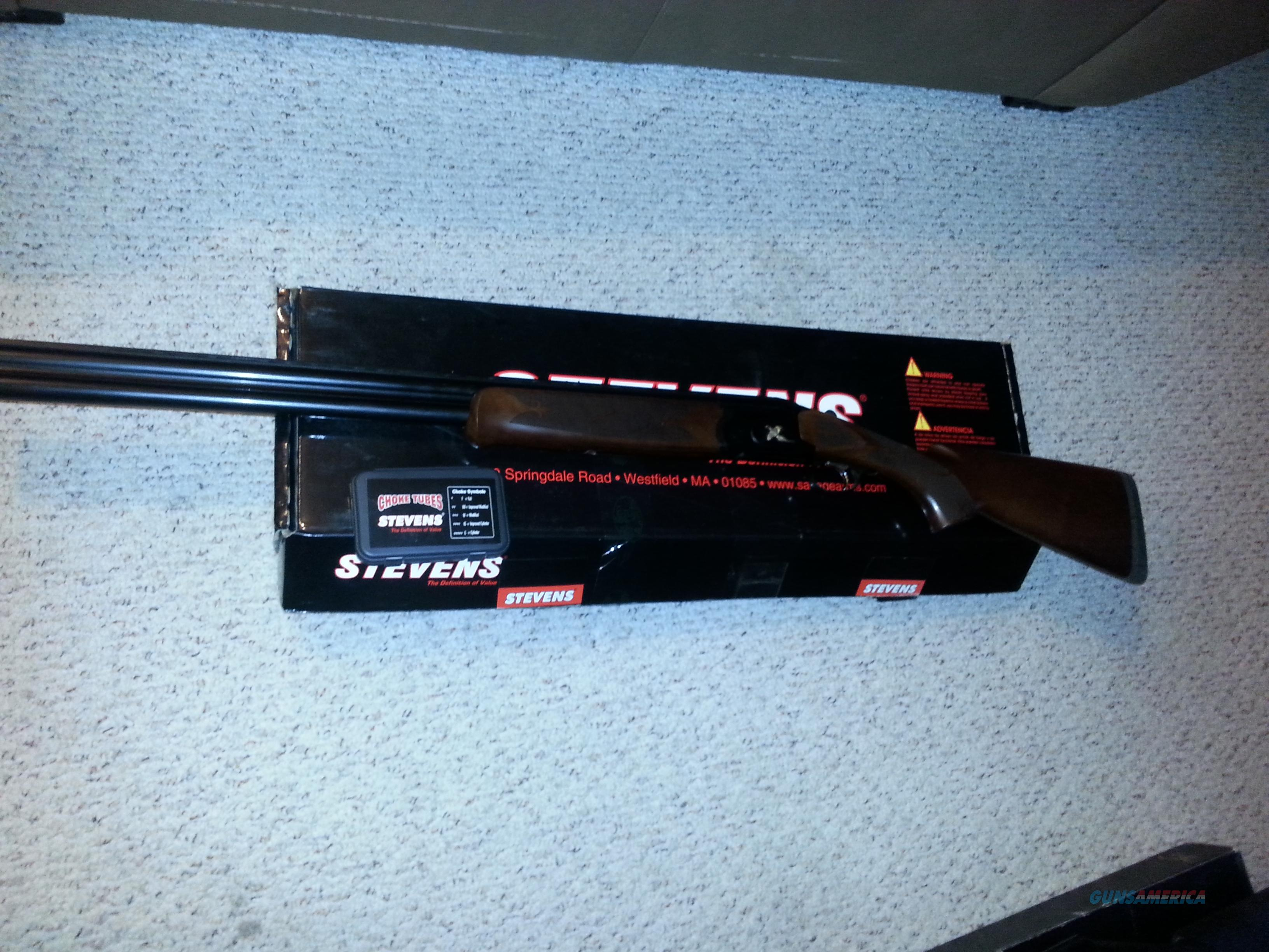Stevens 512 Goldwing - 12 gauge Over/Under  FREE S/H  Guns > Shotguns > Savage Shotguns