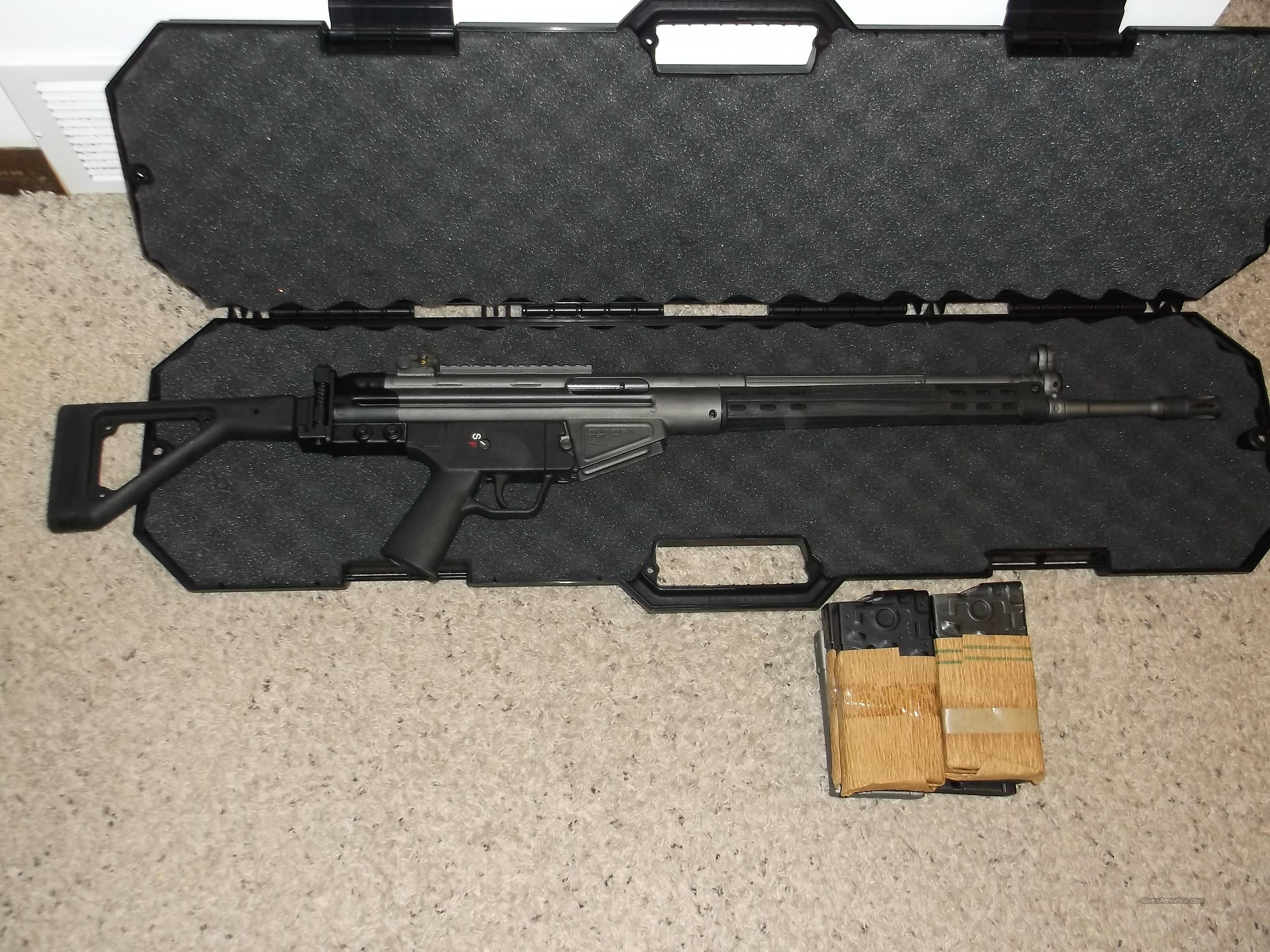 PTR SFR SIDE FOLDER FREE S/H EXTRA MAGS  Guns > Rifles > Heckler & Koch Rifles > Tactical