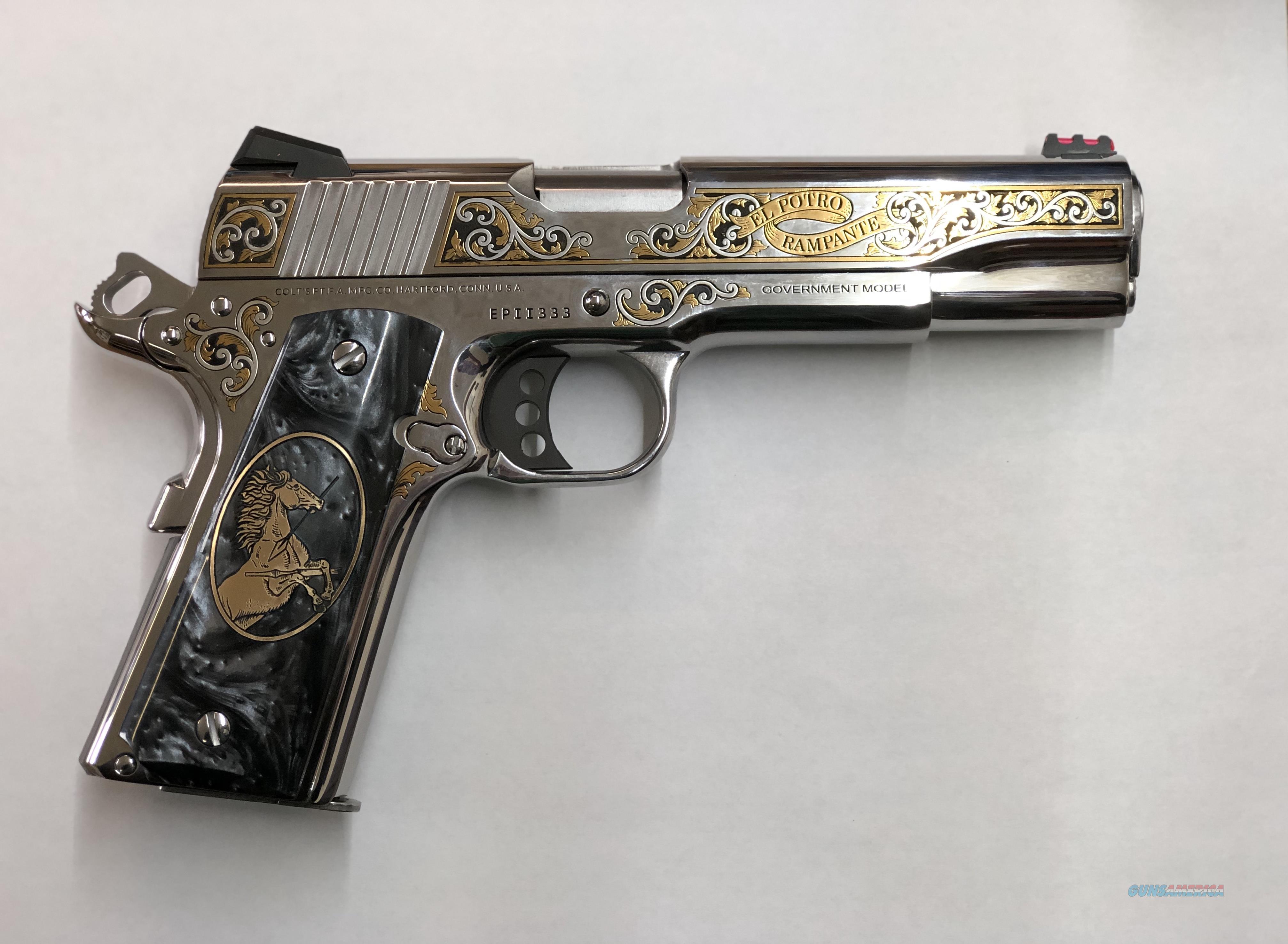 Colt El Potro Rampante II  Guns > Pistols > Colt Automatic Pistols (1911 & Var)