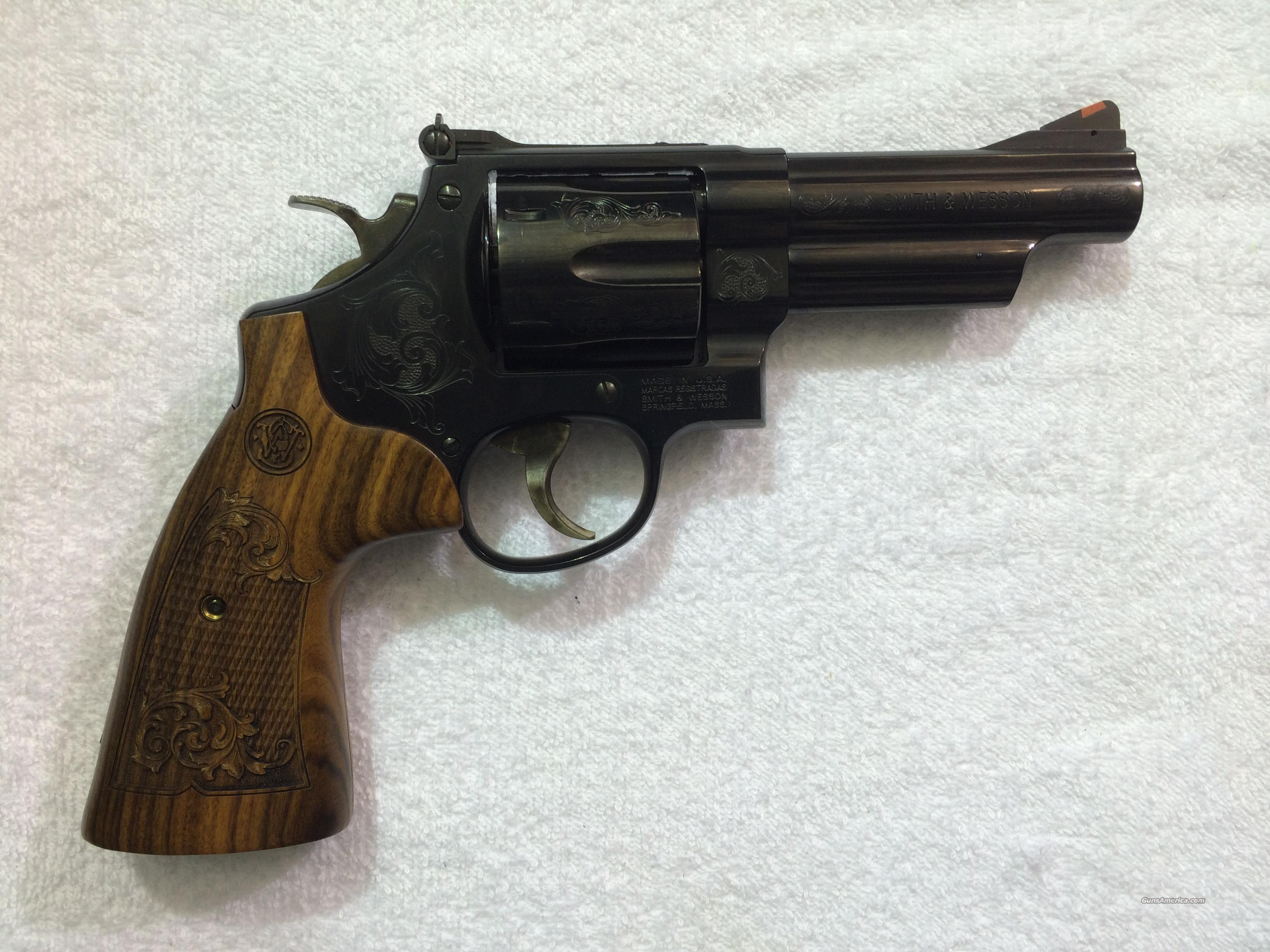 "Smith & Wesson Model 29 Engraved 4""  Guns > Pistols > Smith & Wesson Revolvers > Model 629"
