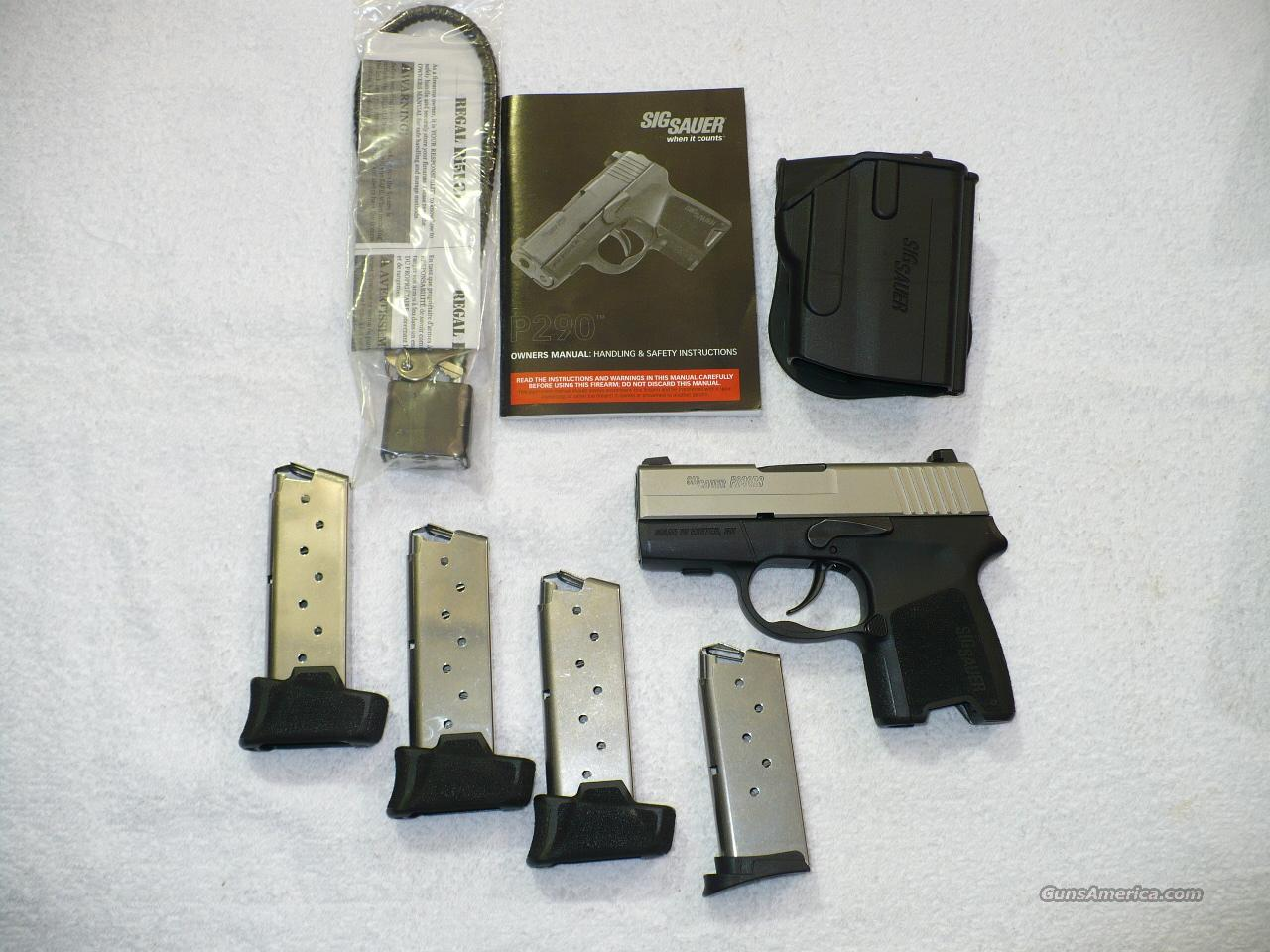 Sig Sauer P290RS 2-Tone Trade-In  Guns > Pistols > Sig - Sauer/Sigarms Pistols > P290