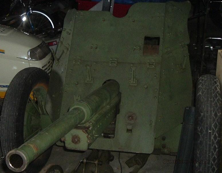 Russian 45mm Anti Tank Gun w/ 20mm Subcal  Guns > Rifles > Cannons > Cannons & Field Artilery