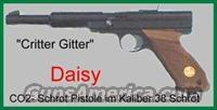 DAISY 807 CRITTER GITTER CO2 Pistol cal.38 Shotshell Very RARE! With ammo  Non-Guns > Air Rifles - Pistols > CO2 Pistol