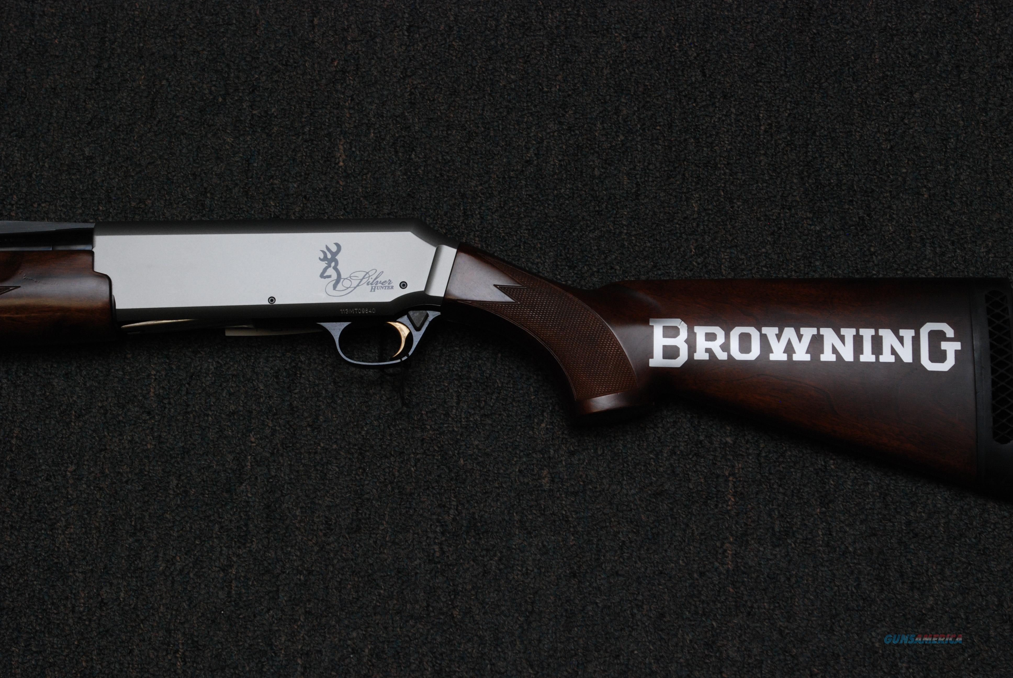 Browning Silver Hunter 12ga.  Guns > Shotguns > Browning Shotguns > Autoloaders > Hunting