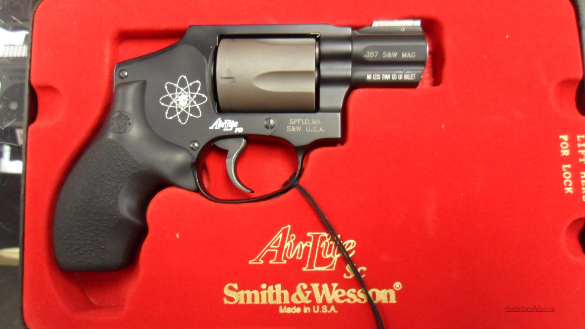 Smith & Wesson AirLite 340 PD 357mag  Guns > Pistols > Smith & Wesson Revolvers > Pocket Pistols