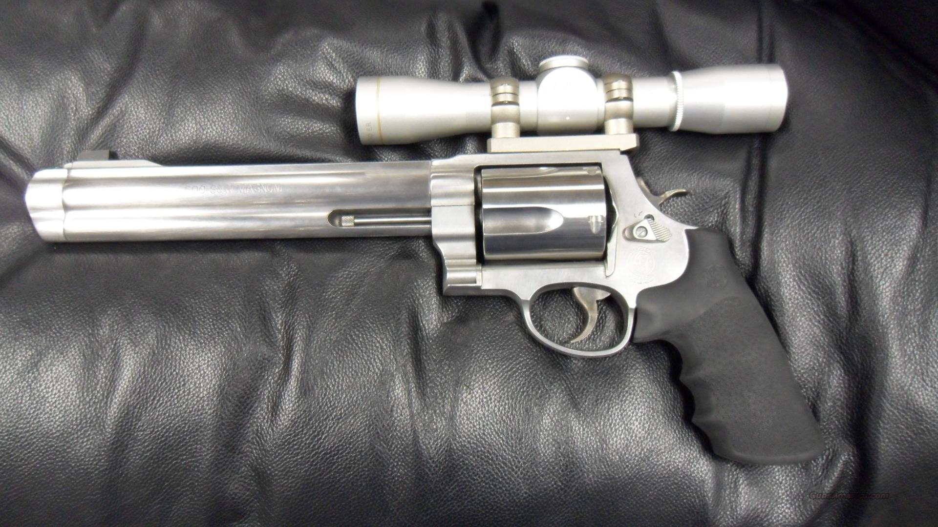 Smith & Wesson 500, 50cal.  Guns > Pistols > Smith & Wesson Revolvers > Full Frame Revolver