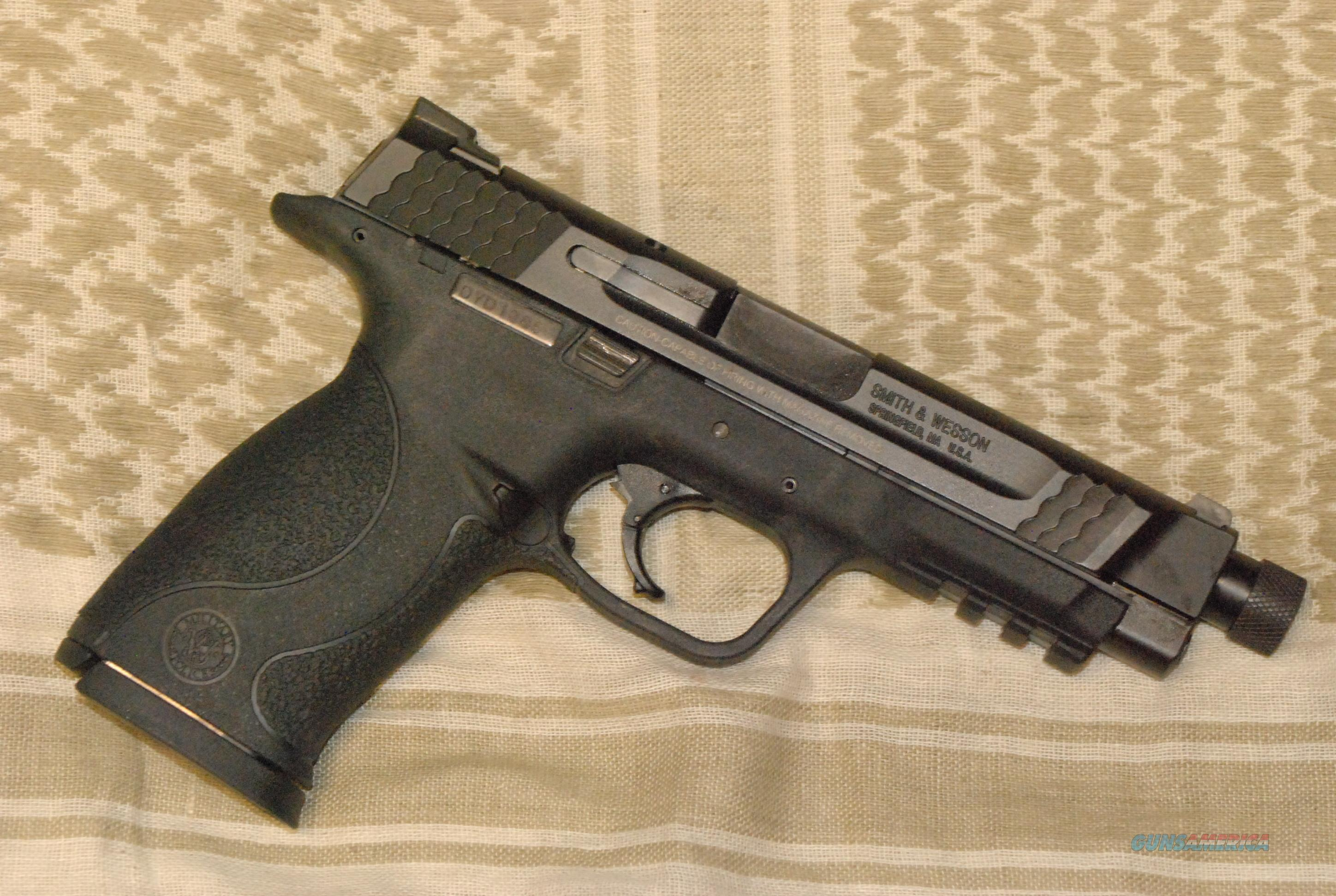 S&W M&P 45 .45acp with Threaded & Stock Barrel...  Guns > Pistols > Smith & Wesson Pistols - Autos > Polymer Frame