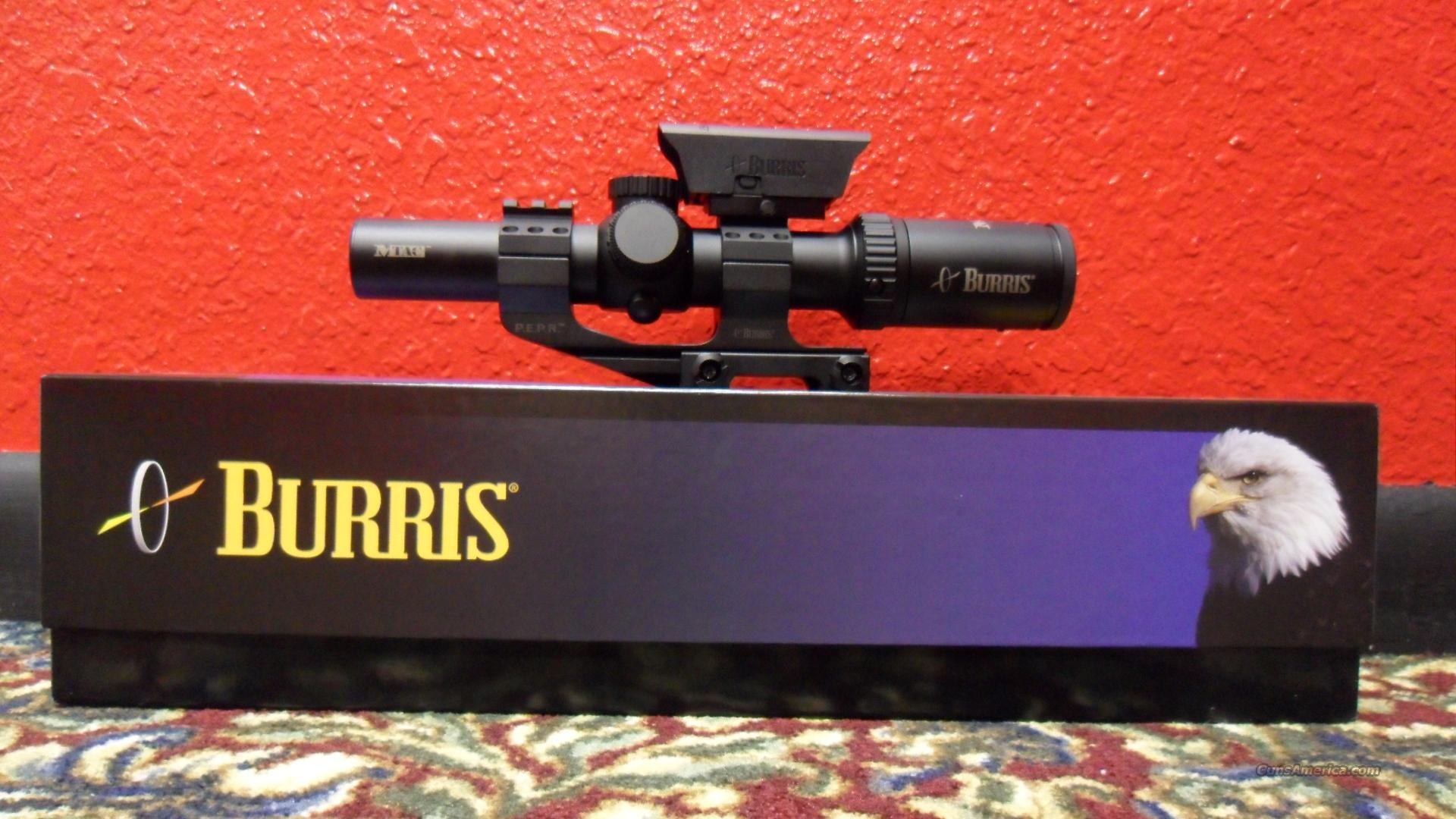 Burris MTAC 1x-4x-24mm  Non-Guns > Scopes/Mounts/Rings & Optics > Tactical Scopes > Variable Recticle