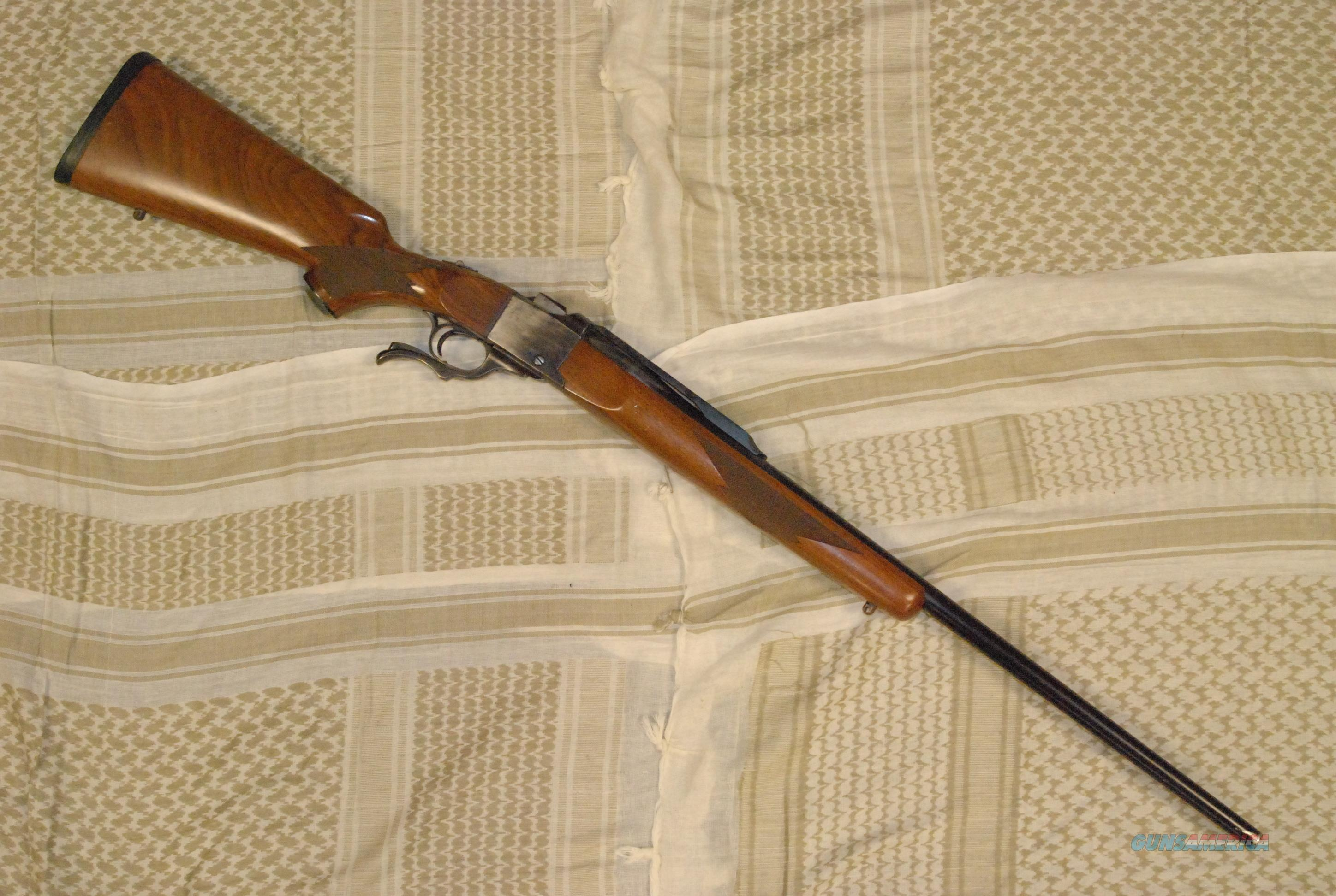 Ruger #1 7mm Remington Magnum  Guns > Rifles > Ruger Rifles > #1 Type