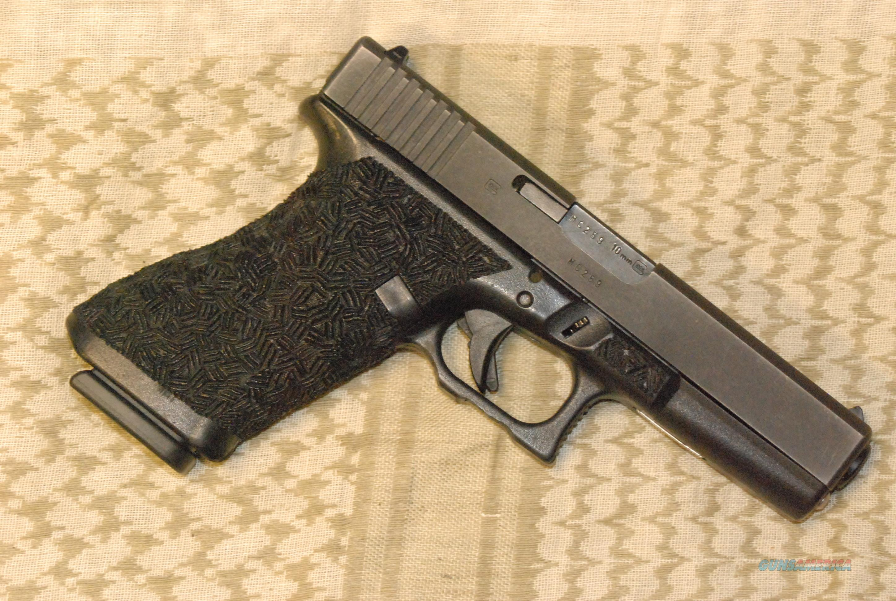 Glock 20 Gen 2 Stippled & Double Undercut  Guns > Pistols > Glock Pistols > 20/21