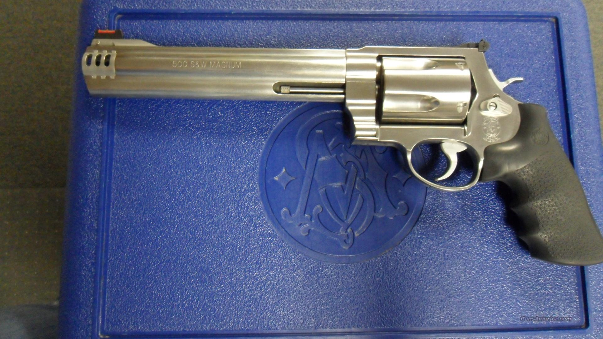Smith & Wesson 500, 50cal  Guns > Pistols > Smith & Wesson Revolvers > Full Frame Revolver