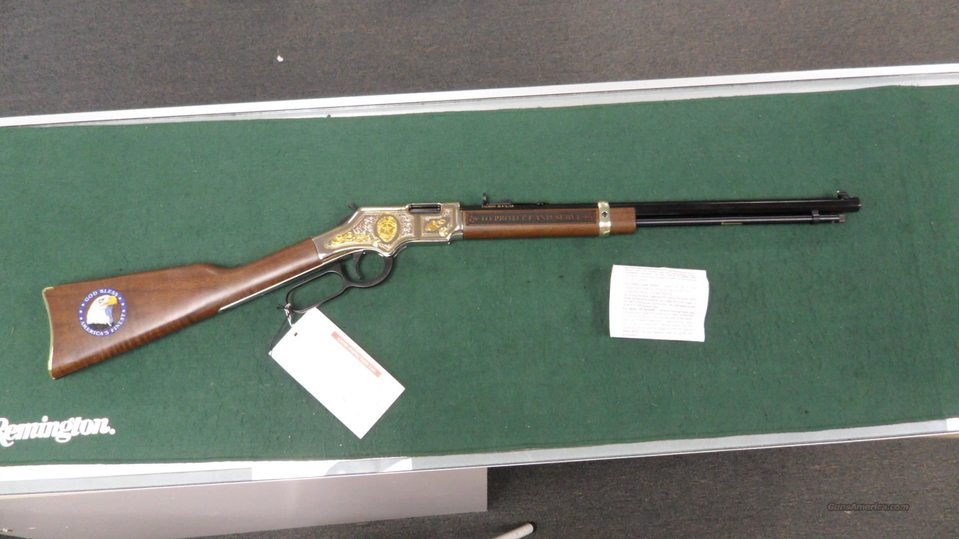 Henry Golden Boy 22 S-L-LR.  Commemorative Law Enforcement Edition.  NIB  Guns > Rifles > Henry Rifle Company