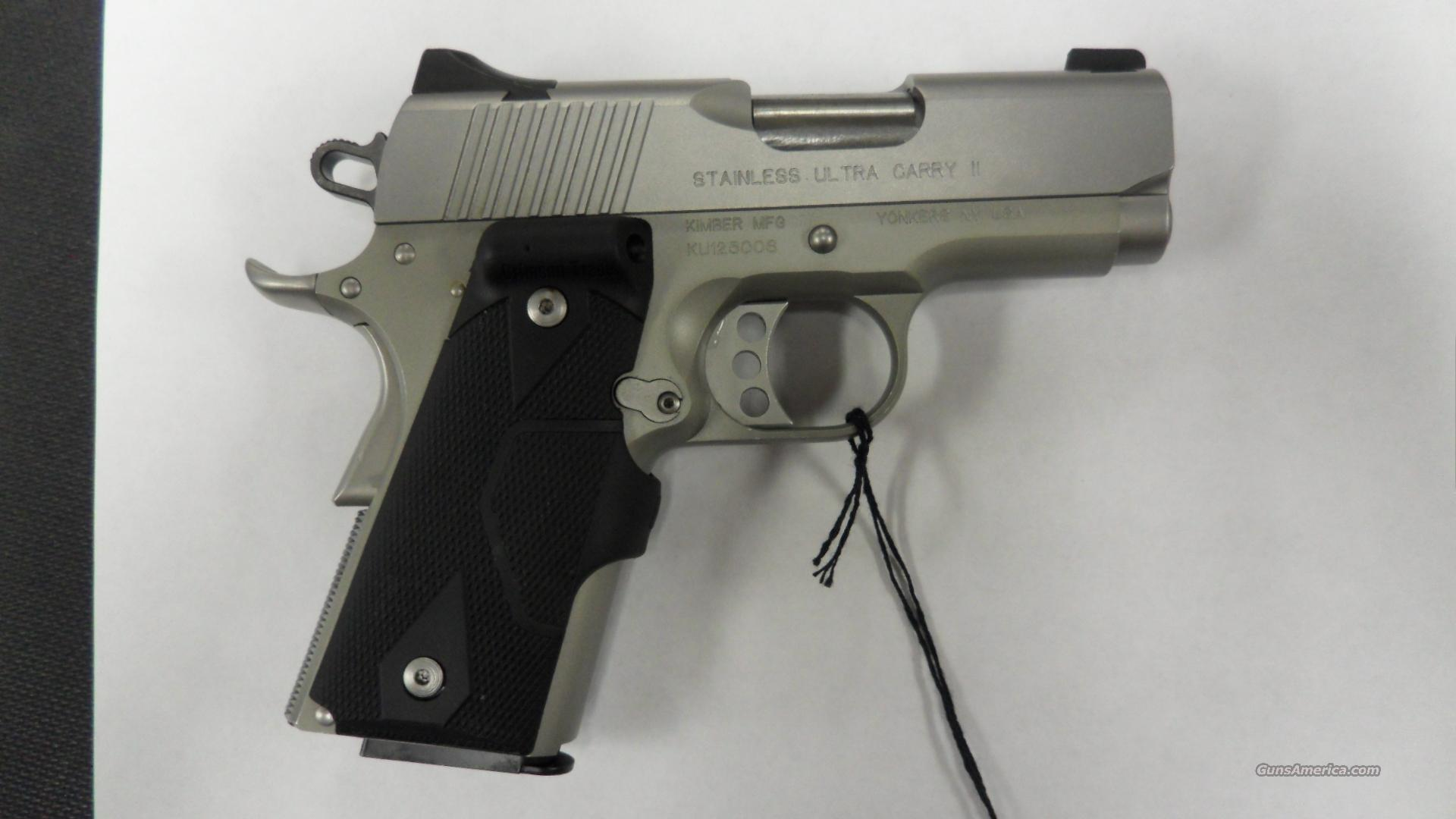 Kimber Stainless Ultra Carry II 45ACP.  Guns > Pistols > Kimber of America Pistols