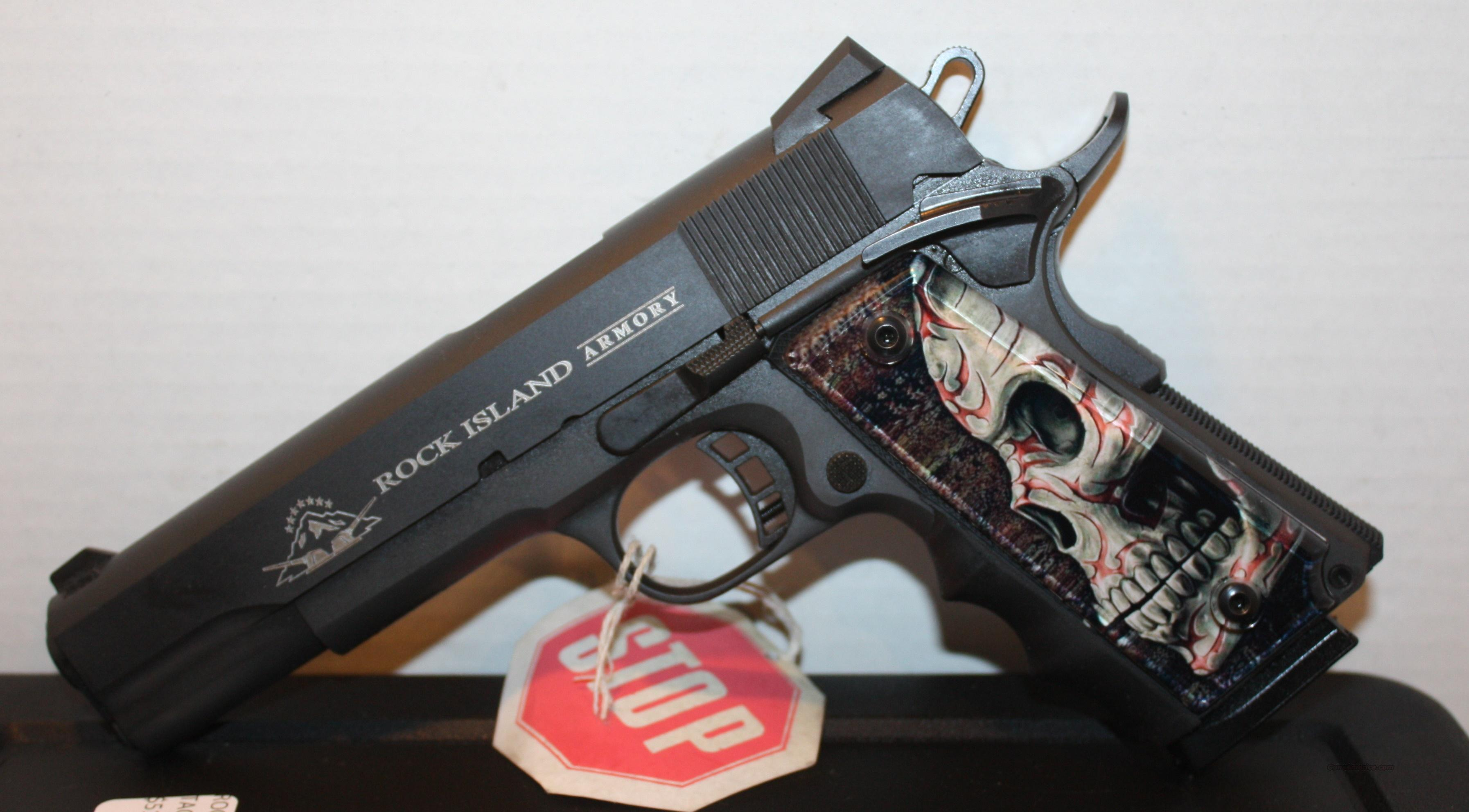 Ez Auto Sales >> New Rock Island Armory M1911-A1 FS Tactical 191... for sale