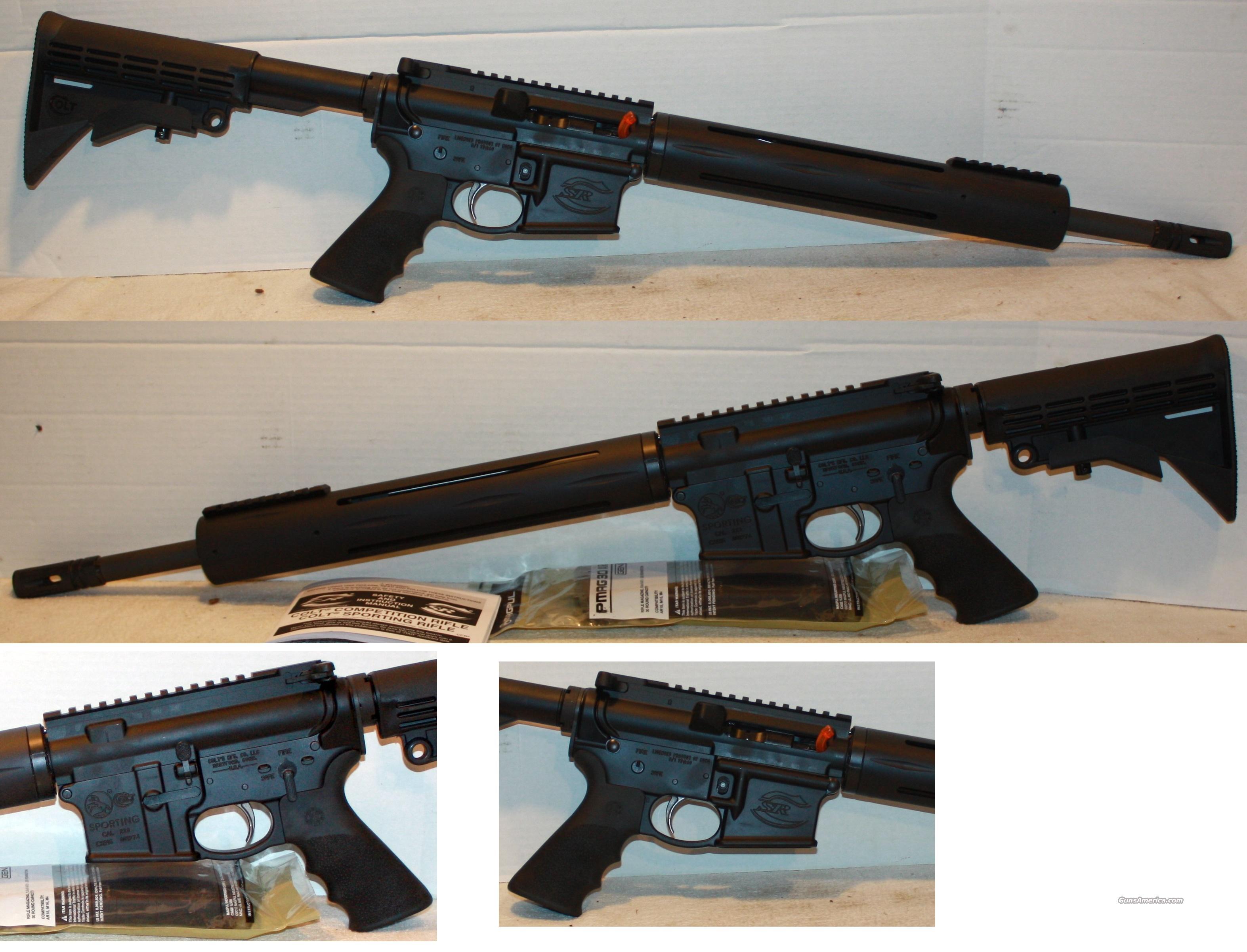 colt competition rifle csr 1516 ar 15 carbine sa 223 5. Black Bedroom Furniture Sets. Home Design Ideas