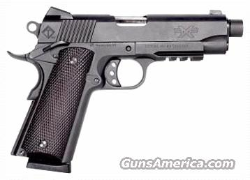 "ATI FX45 1911 45-K TACTICAL 45ACP 4.75"" THREADED BARREL WITH CAP .578-24RH 8RDS PICATINNY RAIL  Guns > Pistols > 1911 Pistol Copies (non-Colt)"