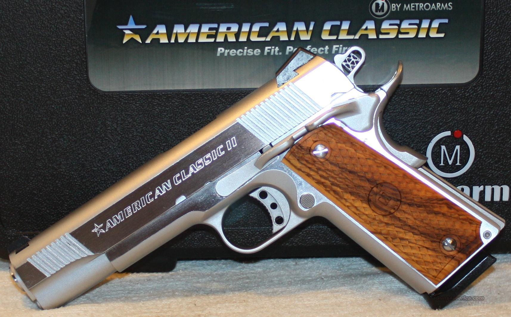 New american classic ii full size 1911 45acp ha for sale for New american classic