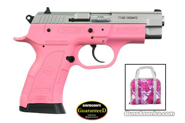"EAA SAR B6P Lady  Pink & Stainless Finish, 9MM Semi Auto Compact Pistol, 3.8"" Barrel, 13 Rounds  Guns > Pistols > EAA Pistols > Other"
