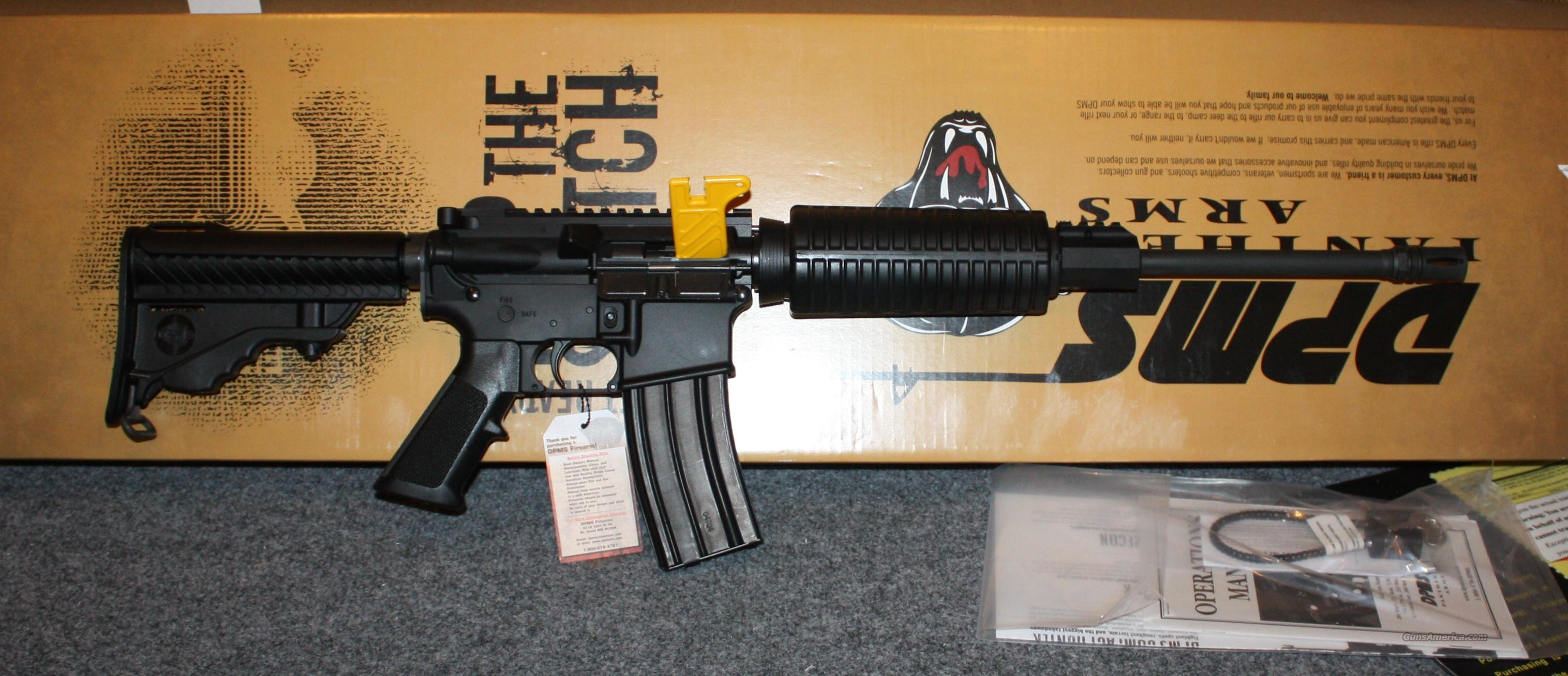 "DPMS Panther Oracle AR15 Rifle 5.56 Nato / 223 Remington 16"" Barrel, 6 Position Stock, Black  Guns > Rifles > DPMS - Panther Arms > Complete Rifle"