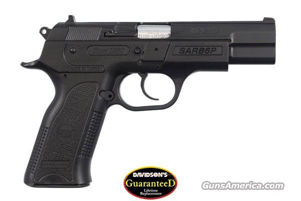 "EAA SAR B6 9MM PISTOL 4.5"" BARREL 17RD MAGAZINE BLACK FINISH LIFETIME WARRANTY  Guns > Pistols > EAA Pistols > Other"