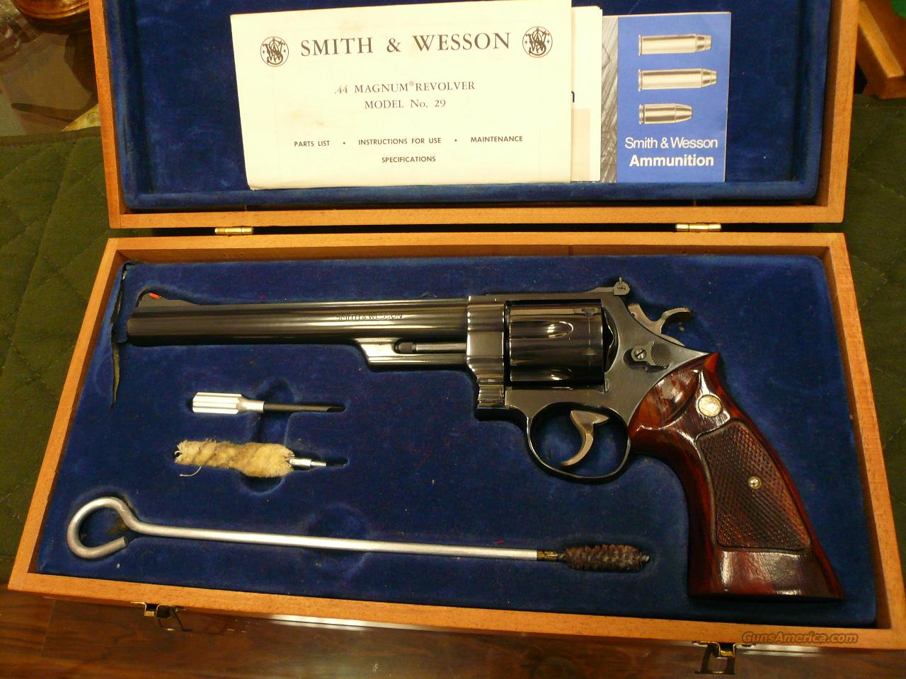 "M29-2  8 3/8""  Guns > Pistols > Smith & Wesson Revolvers > Full Frame Revolver"