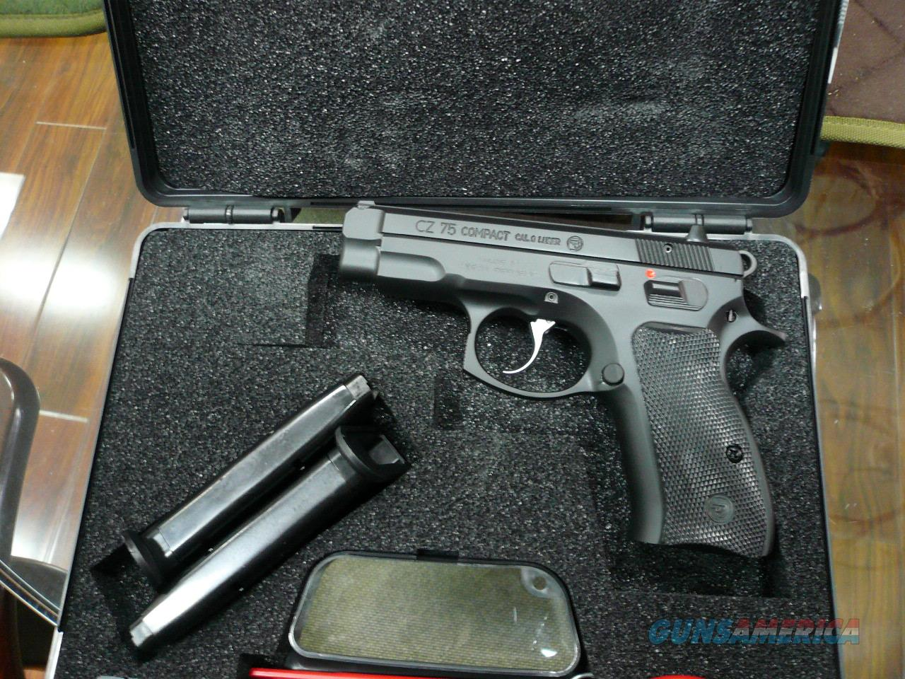 CZ75 COMPACT 9MM ,NIB  Guns > Pistols > CZ Pistols
