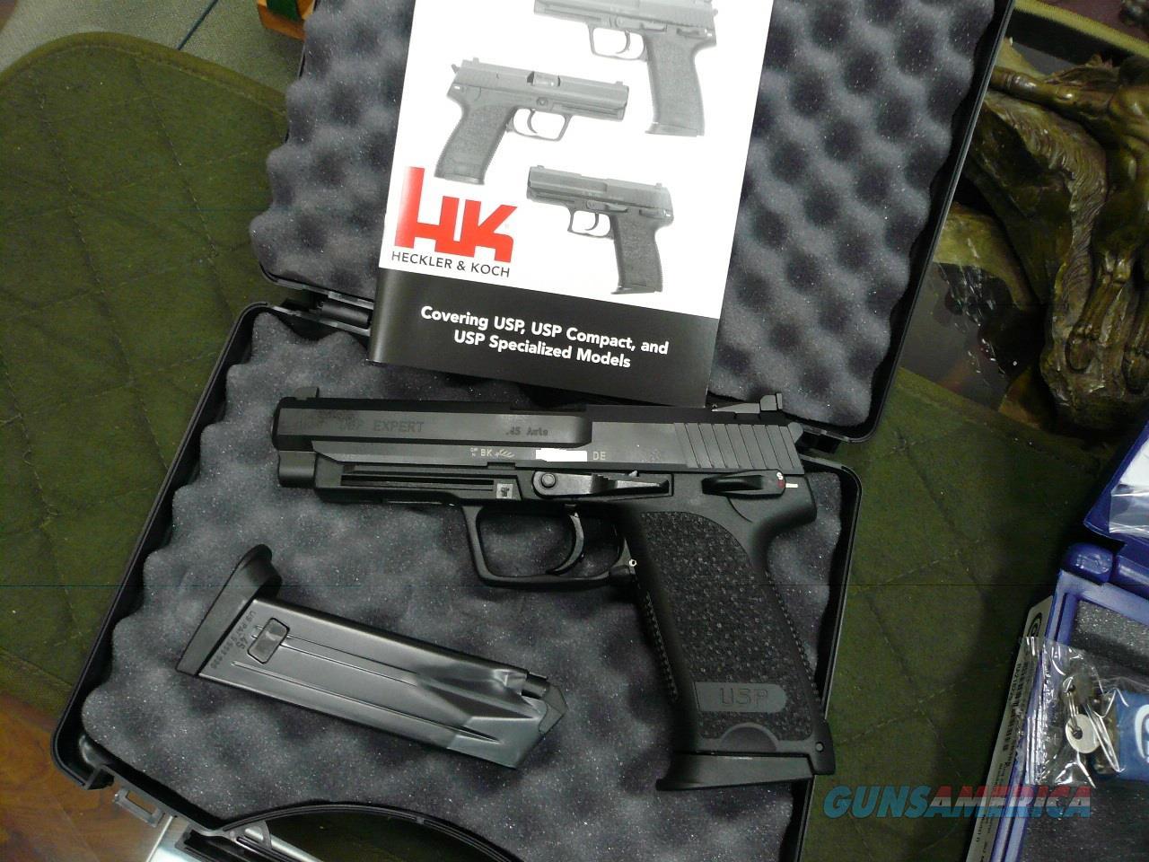 USP-EXPERT 45ACP,NIB (OK FOR CA)  Guns > Pistols > Heckler & Koch Pistols > Polymer Frame
