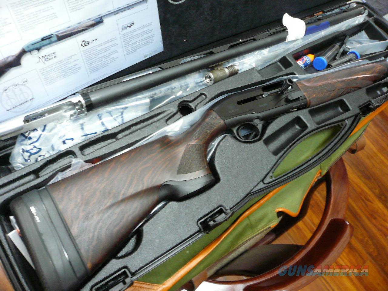 "A400-XCEL/BLACK 30"" SPORTING KO/STOCK NIB  Guns > Shotguns > Beretta Shotguns > Autoloaders > Trap/Skeet"