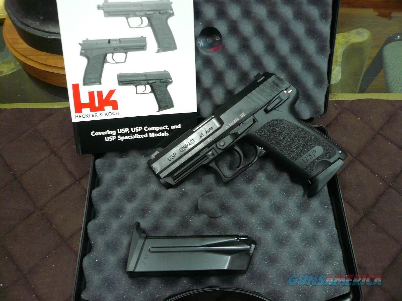 USP-COMPACT V1 45ACP,NIB  Guns > Pistols > Heckler & Koch Pistols > Polymer Frame