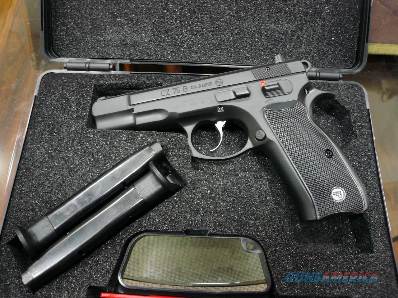 75 B ,9mm NIB  Guns > Pistols > CZ Pistols
