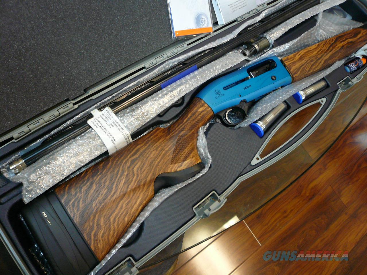"A400 XCEL 12GA 30"" With KO stock(BLUE) Sporting NIB  Guns > Shotguns > Beretta Shotguns > Autoloaders > Trap/Skeet"