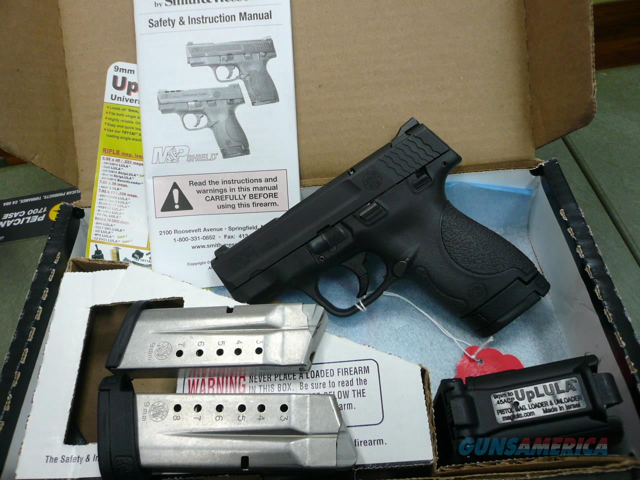 M&P Shield 9mm (Test Fired)  Guns > Pistols > Smith & Wesson Pistols - Autos > Shield