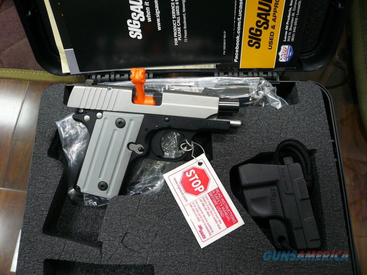 P238-TSS-CA 380ACP NIB  Guns > Pistols > Sig - Sauer/Sigarms Pistols > P238