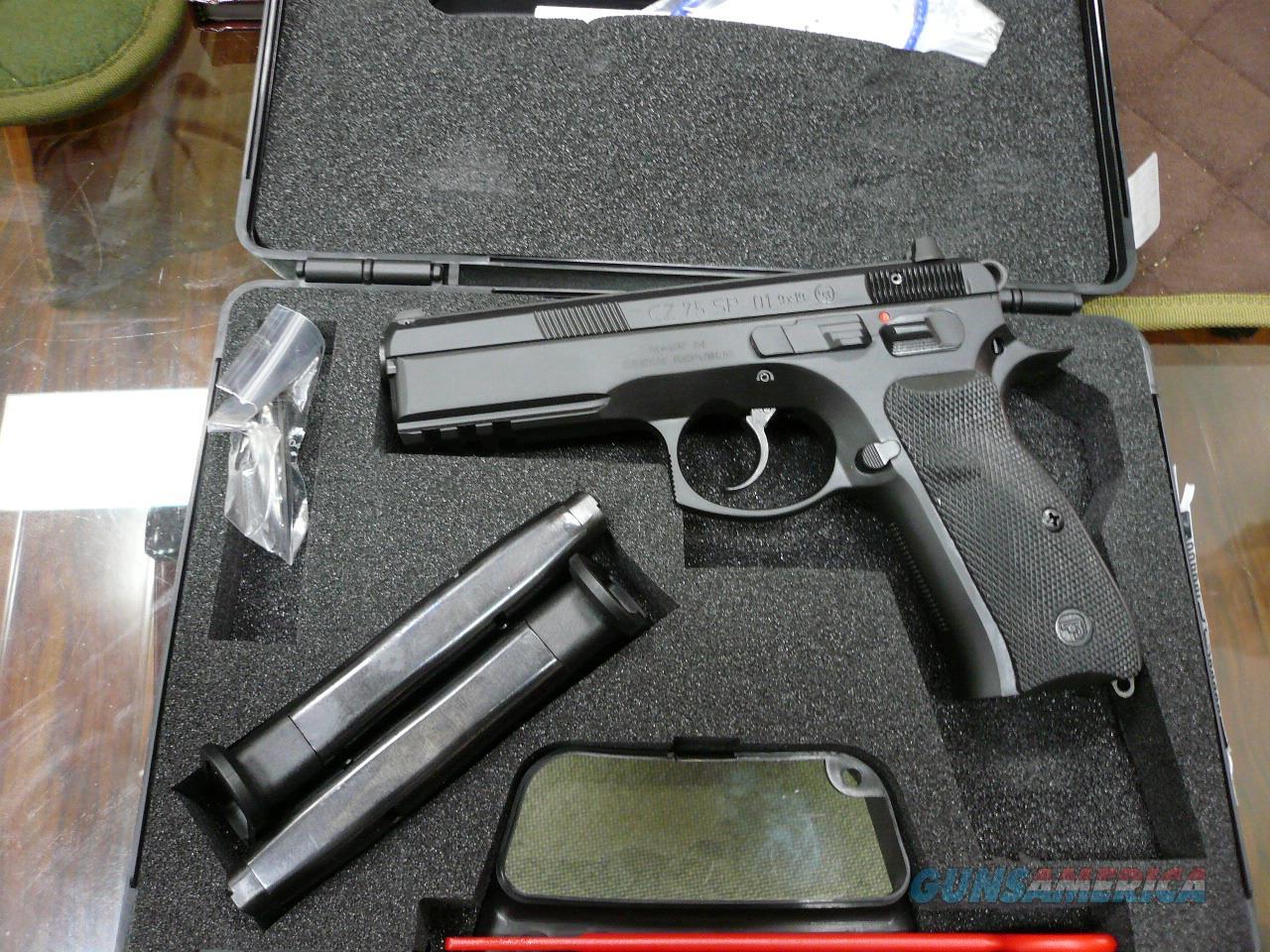 CZ75-SP01 9mm NIB  Guns > Pistols > CZ Pistols