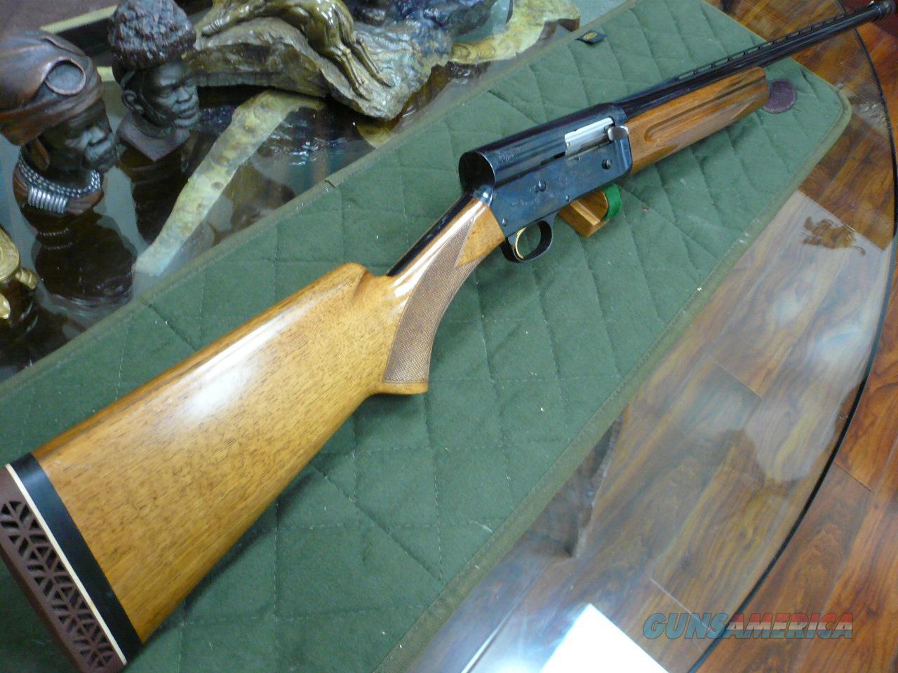 AUTO-5 TWENTY,(1968 Vintage) Belgium 20Ga  Guns > Shotguns > Browning Shotguns > Autoloaders > Hunting