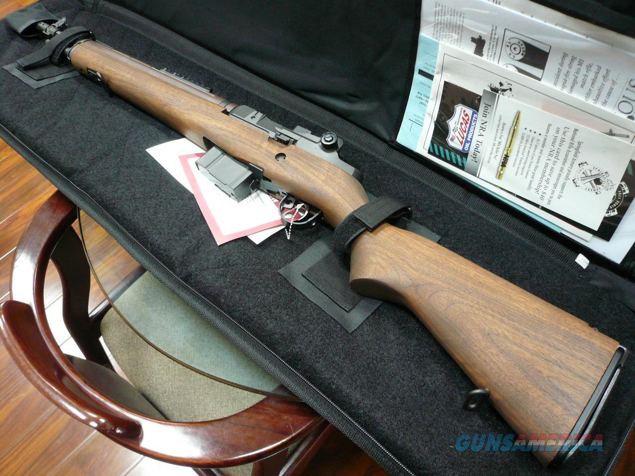 "M1A SCOUT 18"" WALNUT NIB (CA COMPLIANT)  Guns > Rifles > Springfield Armory Rifles > M1A/M14"