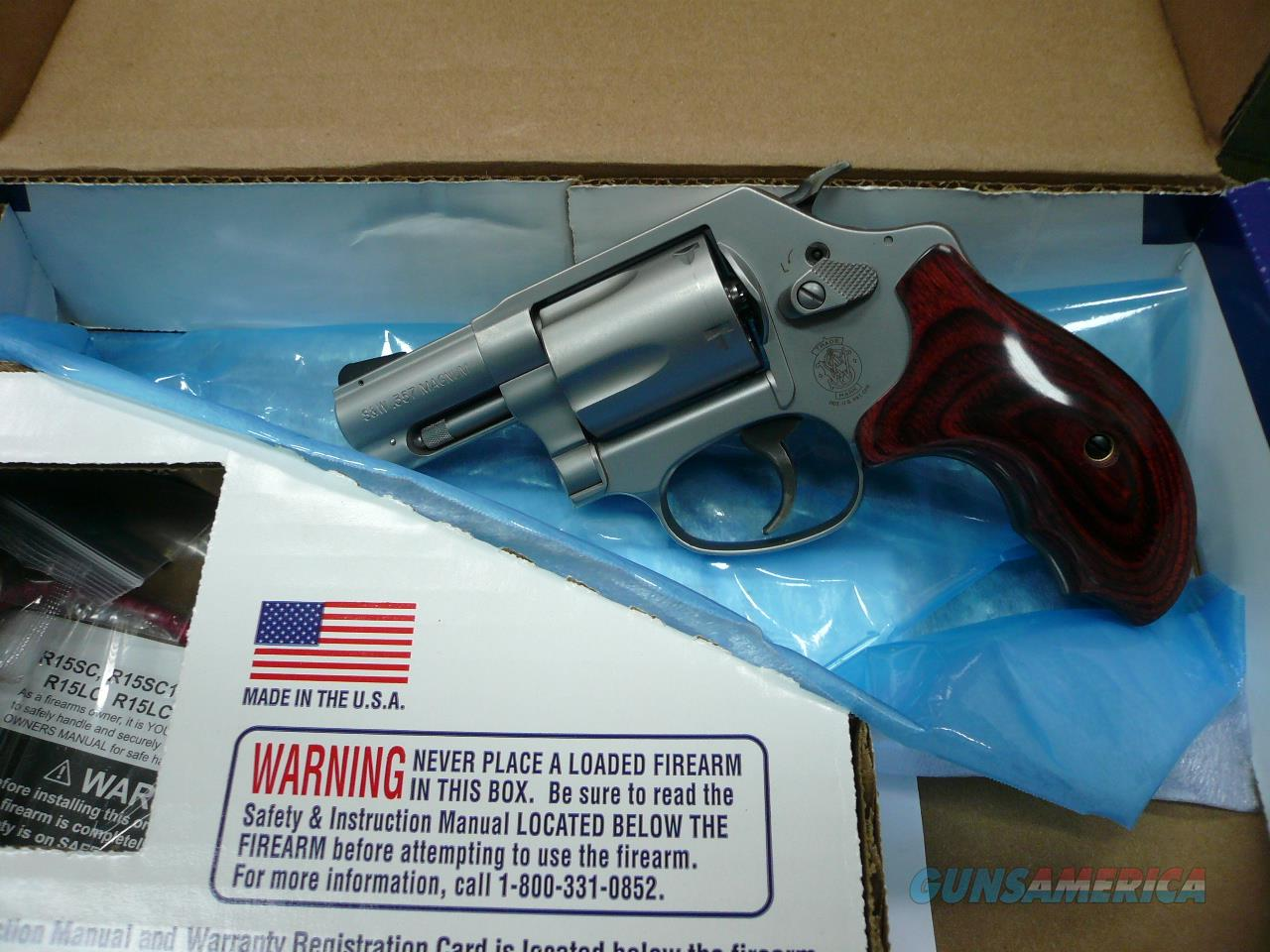 "60-14 Lady Smith 2.125"" 357Mag,NIB  Guns > Pistols > Smith & Wesson Revolvers > Small Frame ( J )"