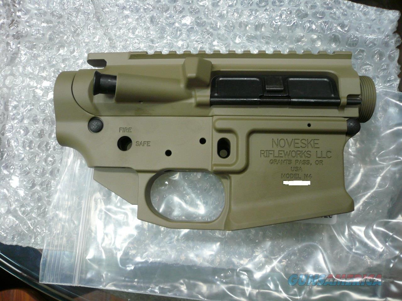 NOVESKE MODEL-N4 GEN3-FDE LOWER/UPPER (STRIPPED)  Guns > Rifles > Noveske Rifles