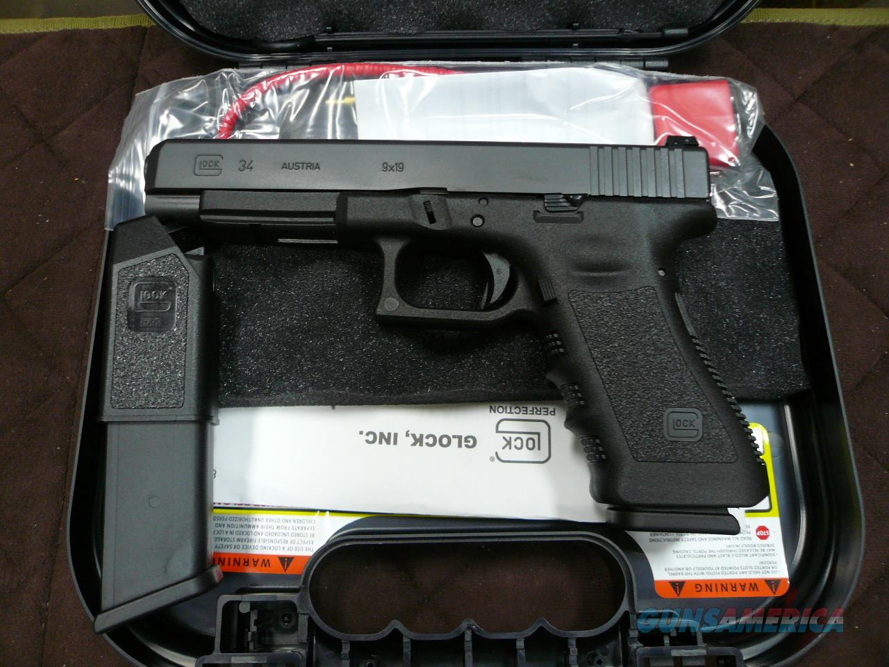 34/Tactical 9mm,NIB  Guns > Pistols > Glock Pistols > 34